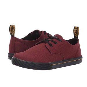 DR MARTENS Red Santanita Canvas Sneaker 9 41